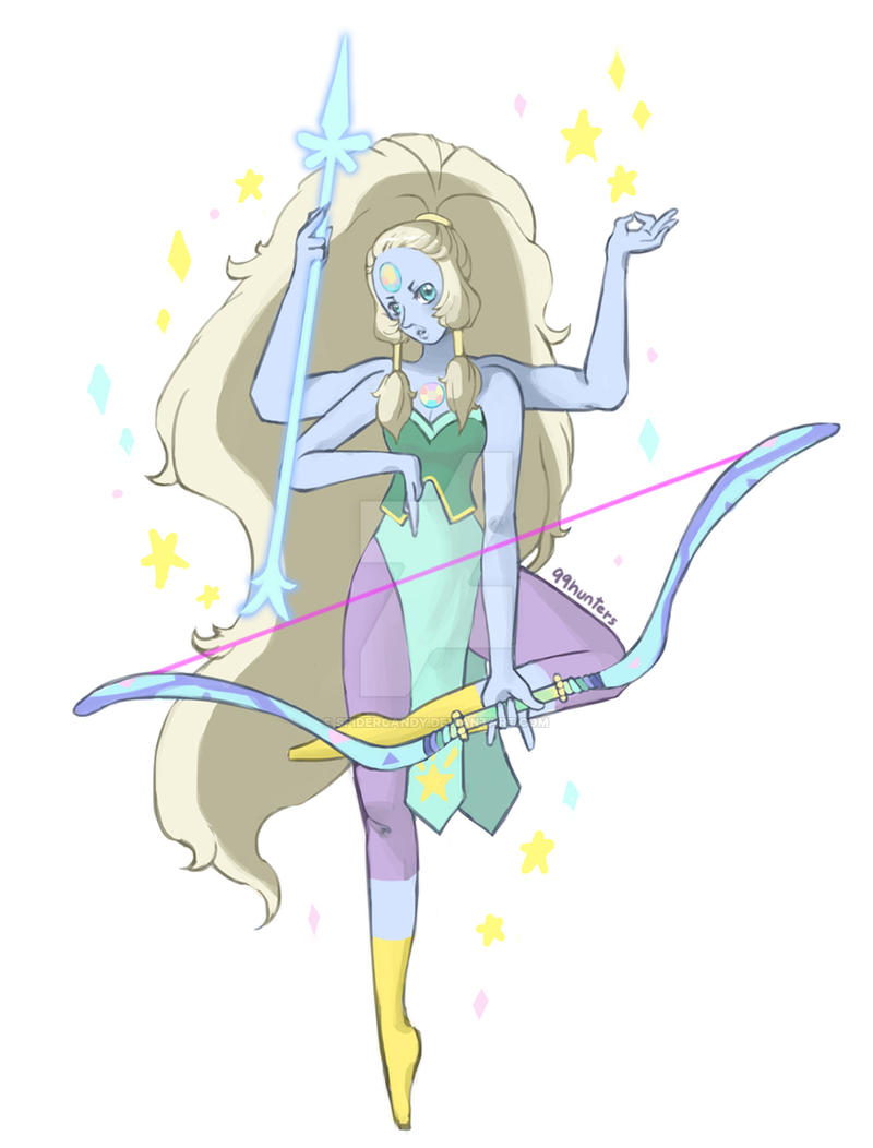 Steven Universe -Opal- by spidercandy on DeviantArt