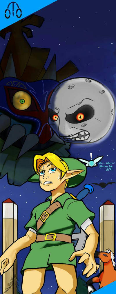 Majora's Mask (Now in 3D!!!) by ThatOtherGuy19