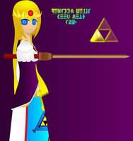 Princess Zelda Hyrule by DARKRYUKO