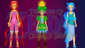 Zelda: O.O.S. Poster by DARKRYUKO