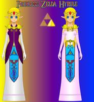 Princess Zelda Revamped by DARKRYUKO