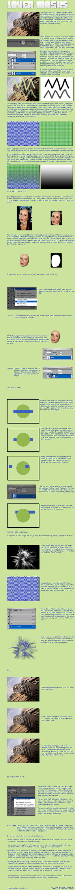 Layer Mask tutorial by Shinybinary