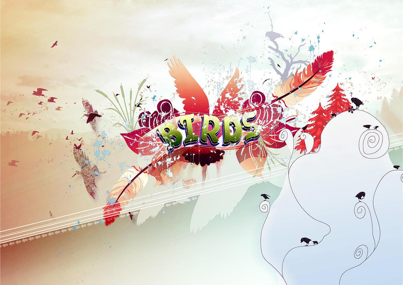 the birds by Shinybinary