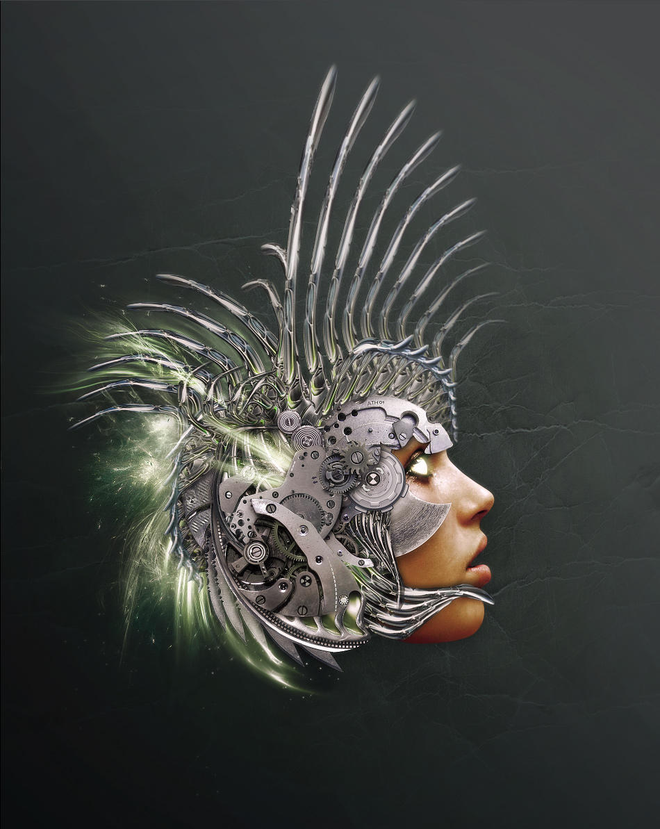 Athena by Shinybinary