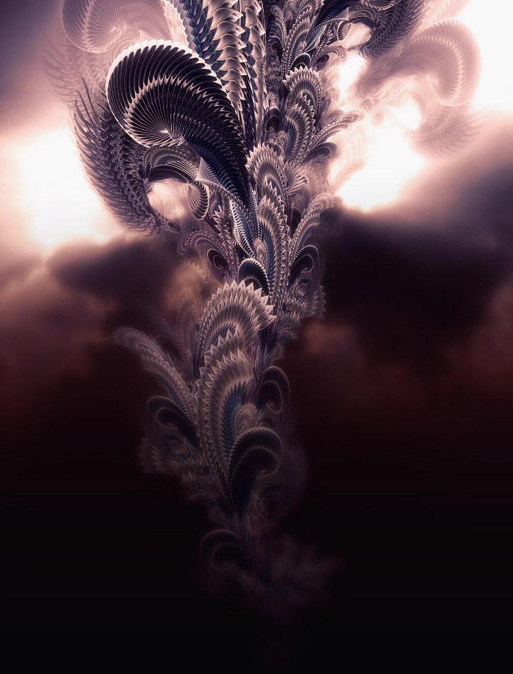 The peacock tree by Shinybinary