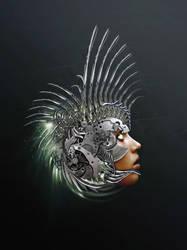 Athena redux by Shinybinary