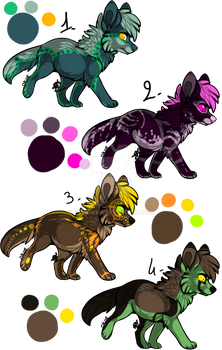 Set 2 : Canines Adopts [CLOSED]