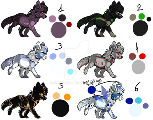 Set 3 : Canines Adopts [CLOSED]