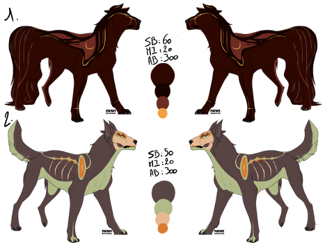 Set wolfadopt - Auction [CLOSED]
