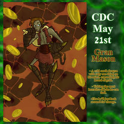 CDC May Day 21: Gran Mason by Deterex525