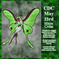 CDC May Day 23: Maya Crass by Deterex525