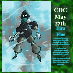 CDC May Day 27: Eria Floe by Deterex525