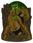 CDC Sep19 day 10: Wood Lady by Deterex525