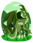 CDC Sep19 Day 30: Forest Dragon by Deterex525