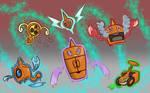 Poke Doodles Rotom Edition