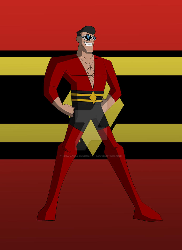 Cam's DCAU Plastic Man by TheScarletMercenary on DeviantArt