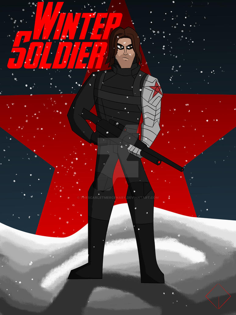 Cam's MAU Winter Soldier (No Mask) by TheScarletMercenary on