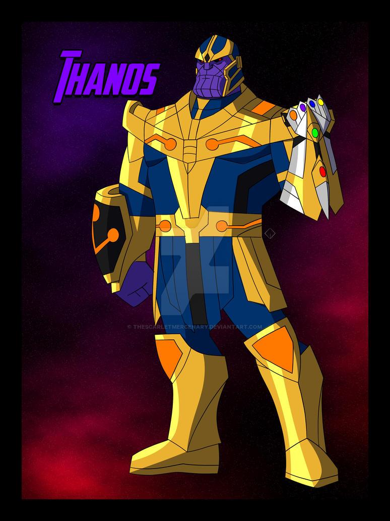 Cam S Mau Thanos 3 0 By Thescarletmercenary On Deviantart