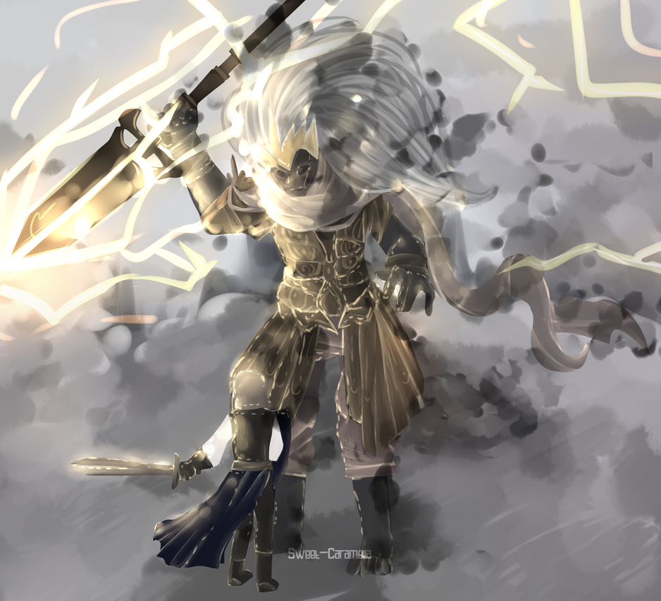 Bad Fast Art Dark Souls 3 Fanart By Sweet Caramella