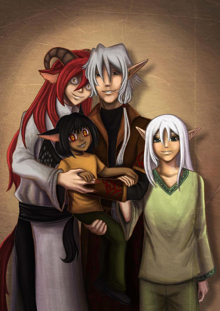 Family Portrait by sukuchini