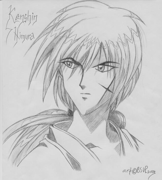 Kenshin Himura Its Gonna Rain By Blackstorm