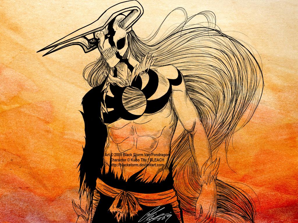 Kurosaki Ichigo -EVOLUTION- wp by blackstorm