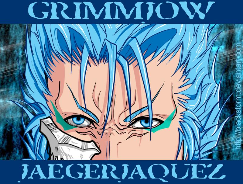 GRIMMJOW: Azure blue eyes by blackstorm on DeviantArt