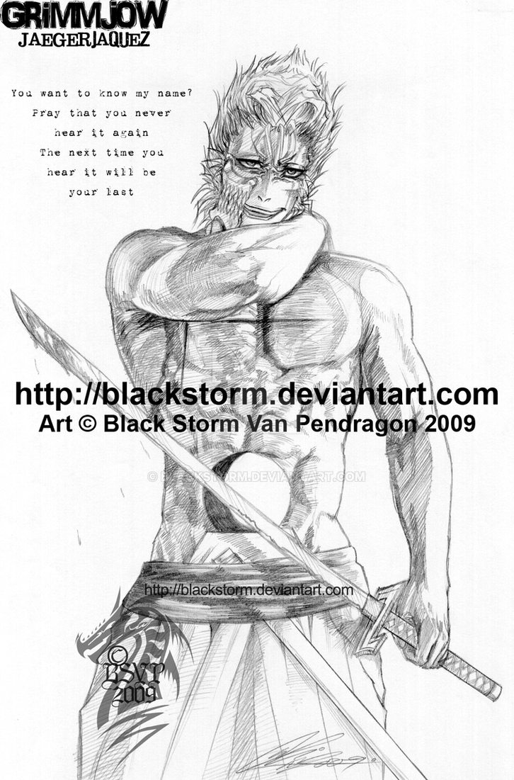 BLEACH: GRIMMJOW -El regreso- by blackstorm