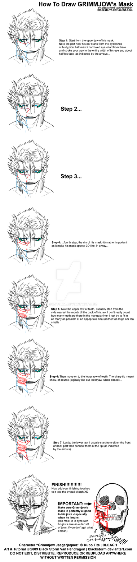 GRIMMJOW: Mask tutorial by blackstorm