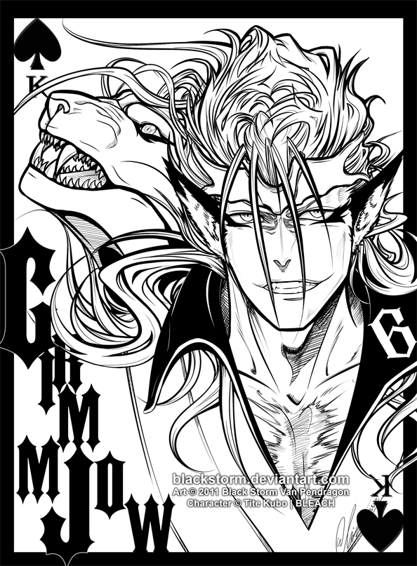 King of Spades +GRIMMJOW + by blackstorm