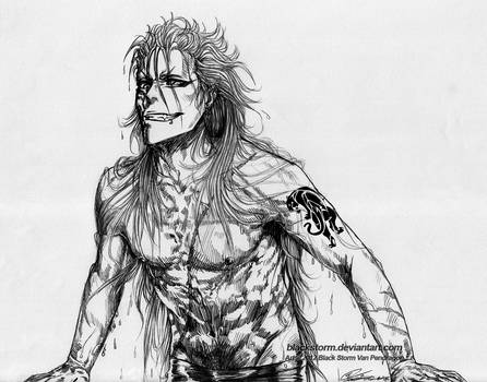 GRIMMJOW: Wet Hot Sinner by blackstorm