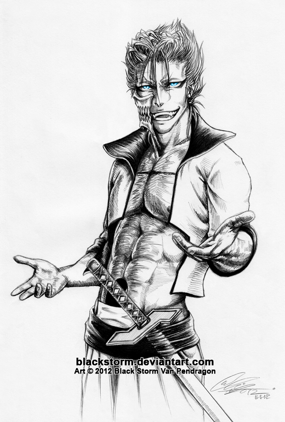 GRIMMJOW Jaegerjaques: I'm back bitches by blackstorm