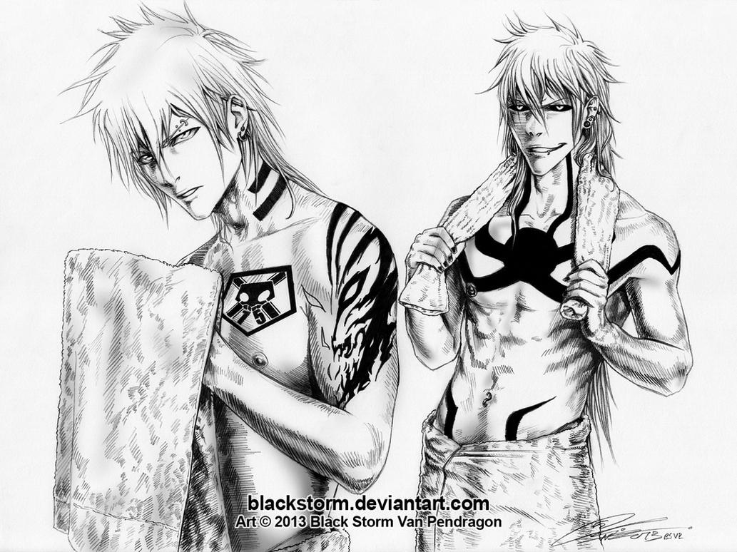 BLEACH Bad Boys --Oh Hello Ladies By Blackstorm On DeviantArt