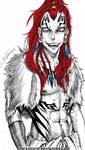 BLEACH : Abarai Renji + Viking AU by blackstorm