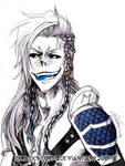 Shirosaki Viking AU for Shadow Thorne by blackstorm