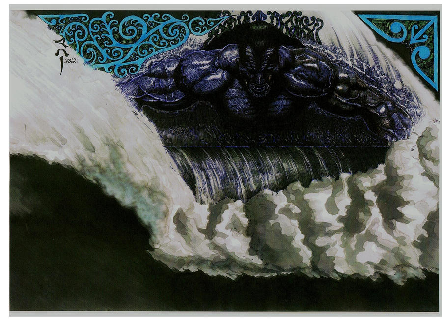 TANGAROA - The MAORI GOD OF THE SEA