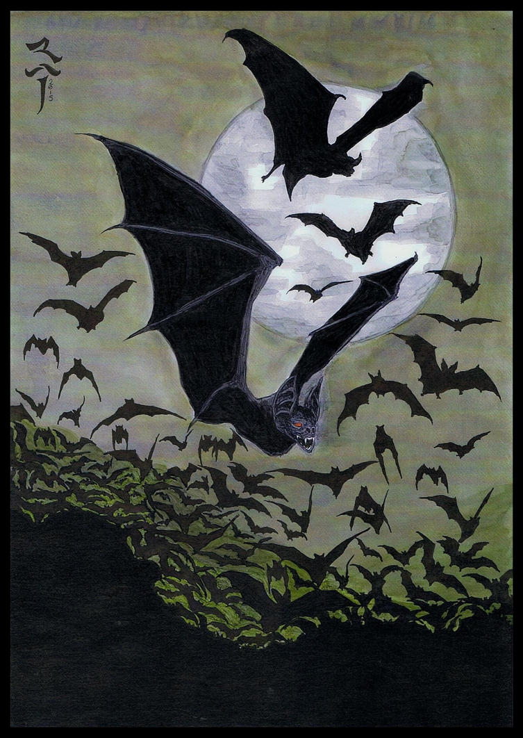 The Bats of Night - 2015 by StonedSmeagol