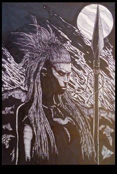 The Pict Huntress ~ Etain