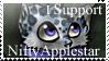 I Support NiftyApplestar Stamp