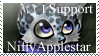 I Support NiftyApplestar Stamp by HelloFeesh