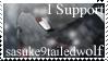 sasuke9tailedwolf Stamp by HelloFeesh