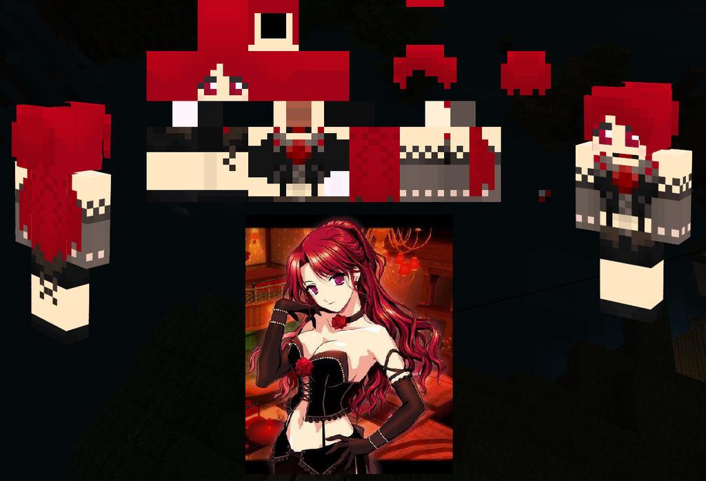 Minecraft Skin Anime Girl by TheAmaterasu on DeviantArt