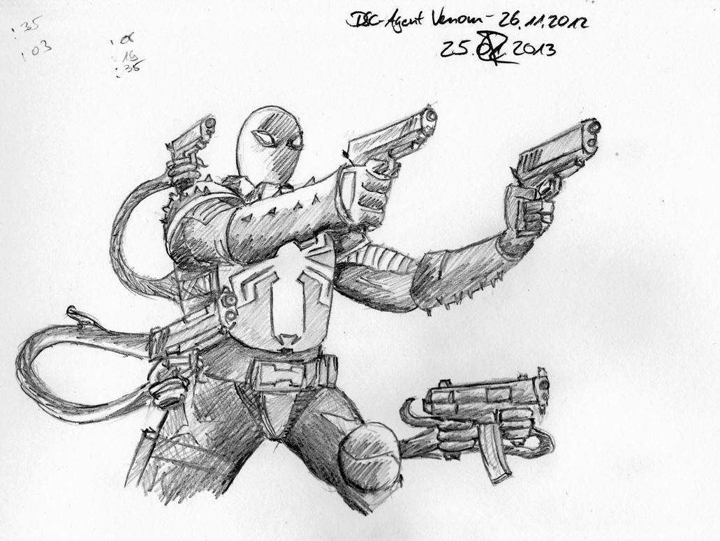 DSC - Agent Venom - 2012'11'26 by BlutigeHandPlus1