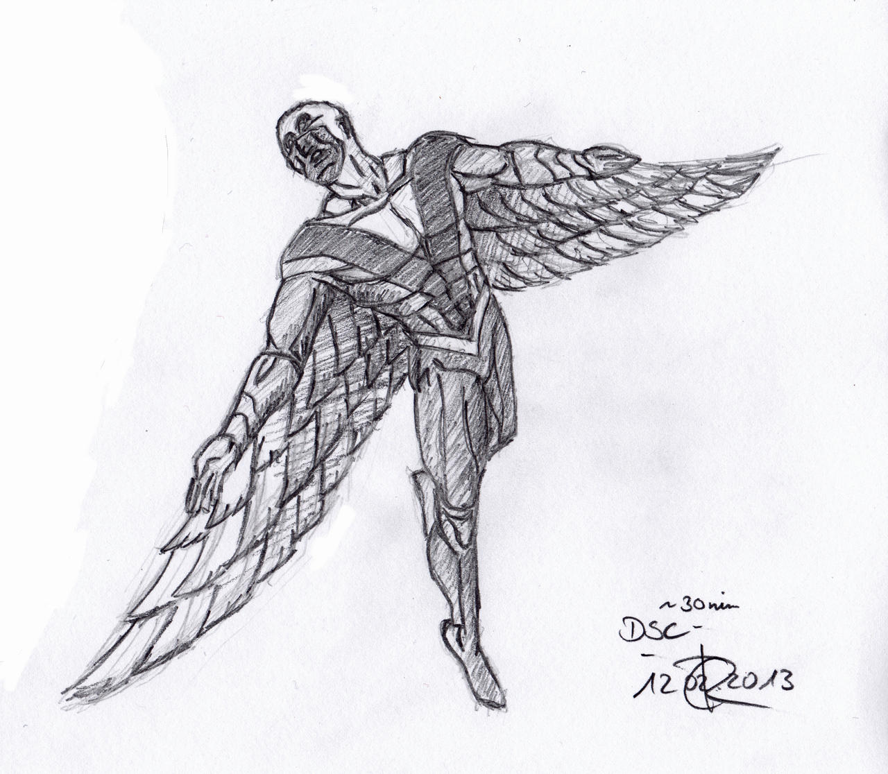 falcon avengers coloring pages - photo#21