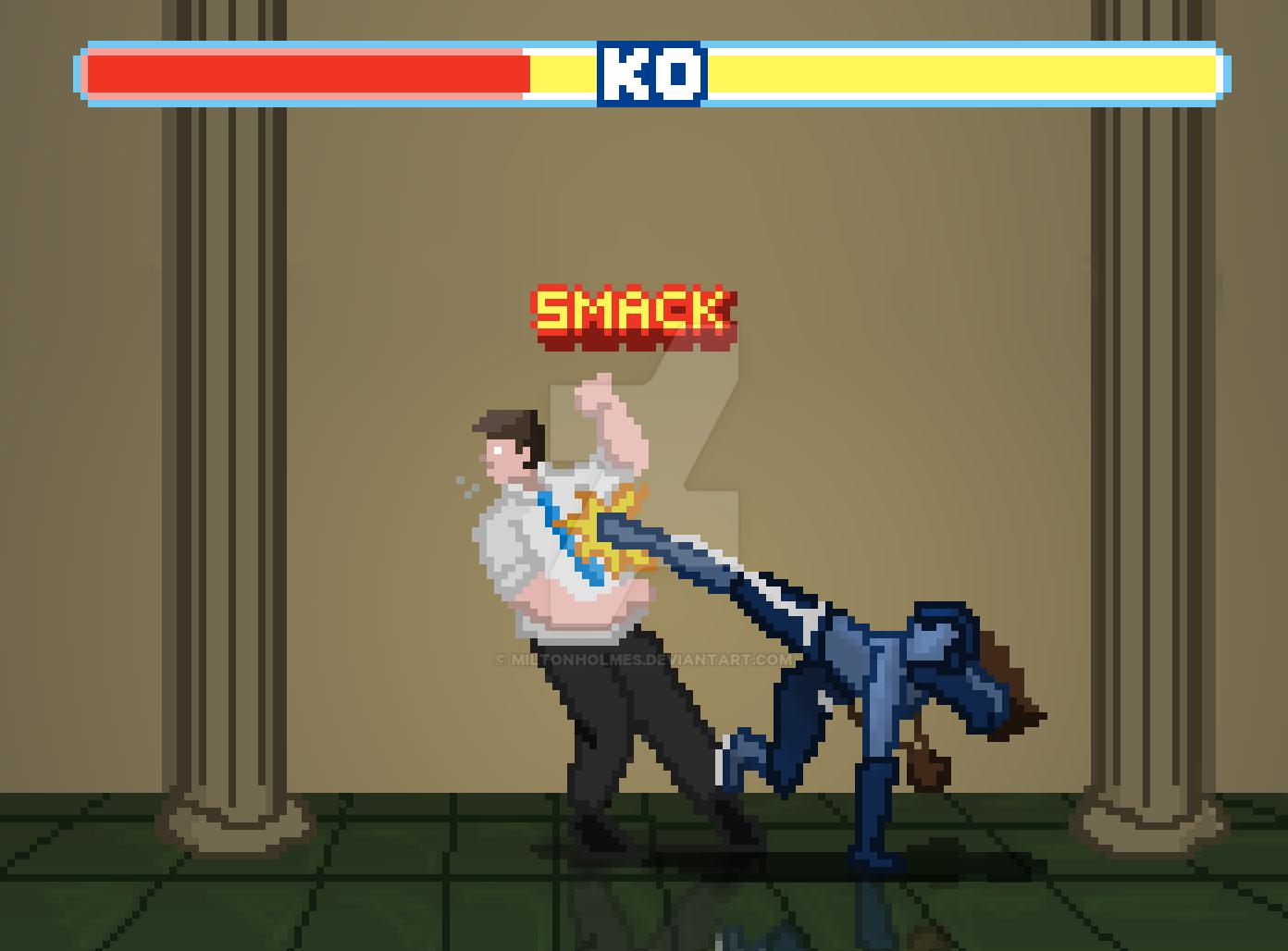 Cool Kick Sprites Thing by Miltonholmes