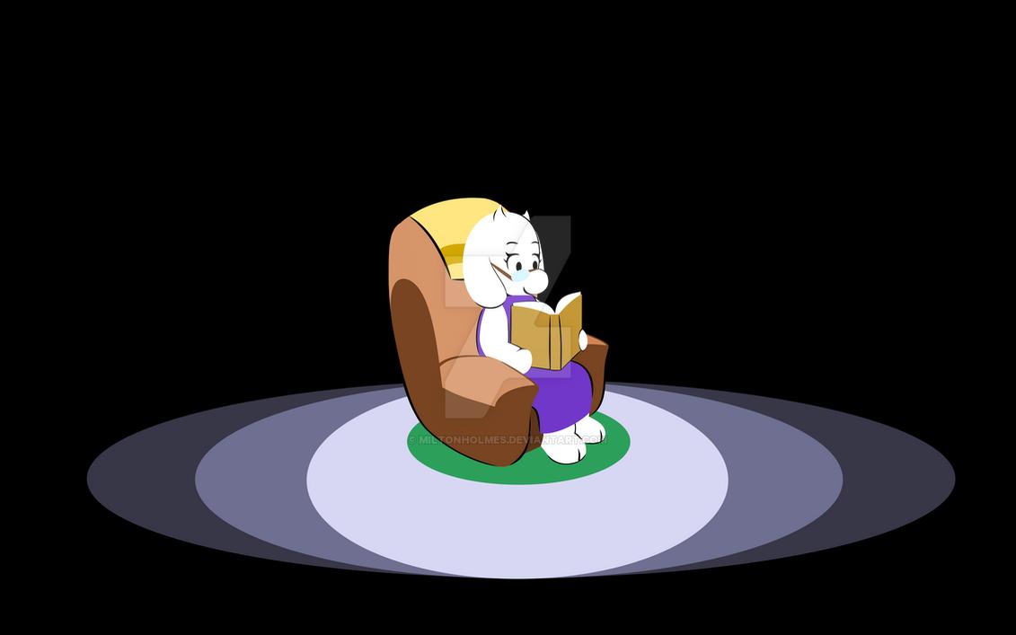 Toriel's Armchair by Miltonholmes