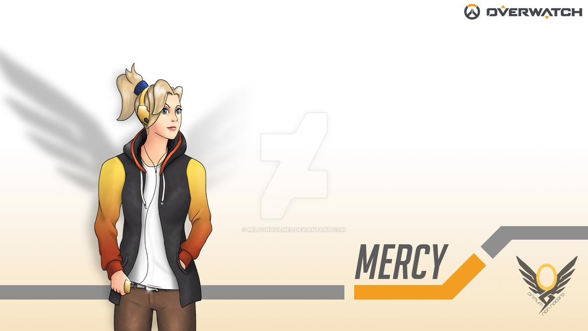Overwatch Mercy Wallpaper 4k