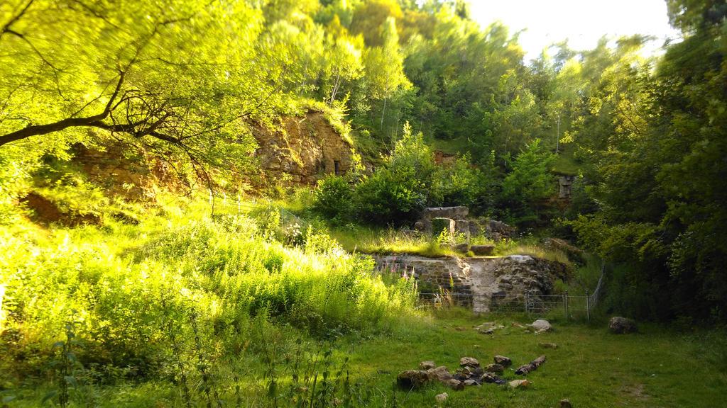 Leckhampton Ruins  by Miltonholmes