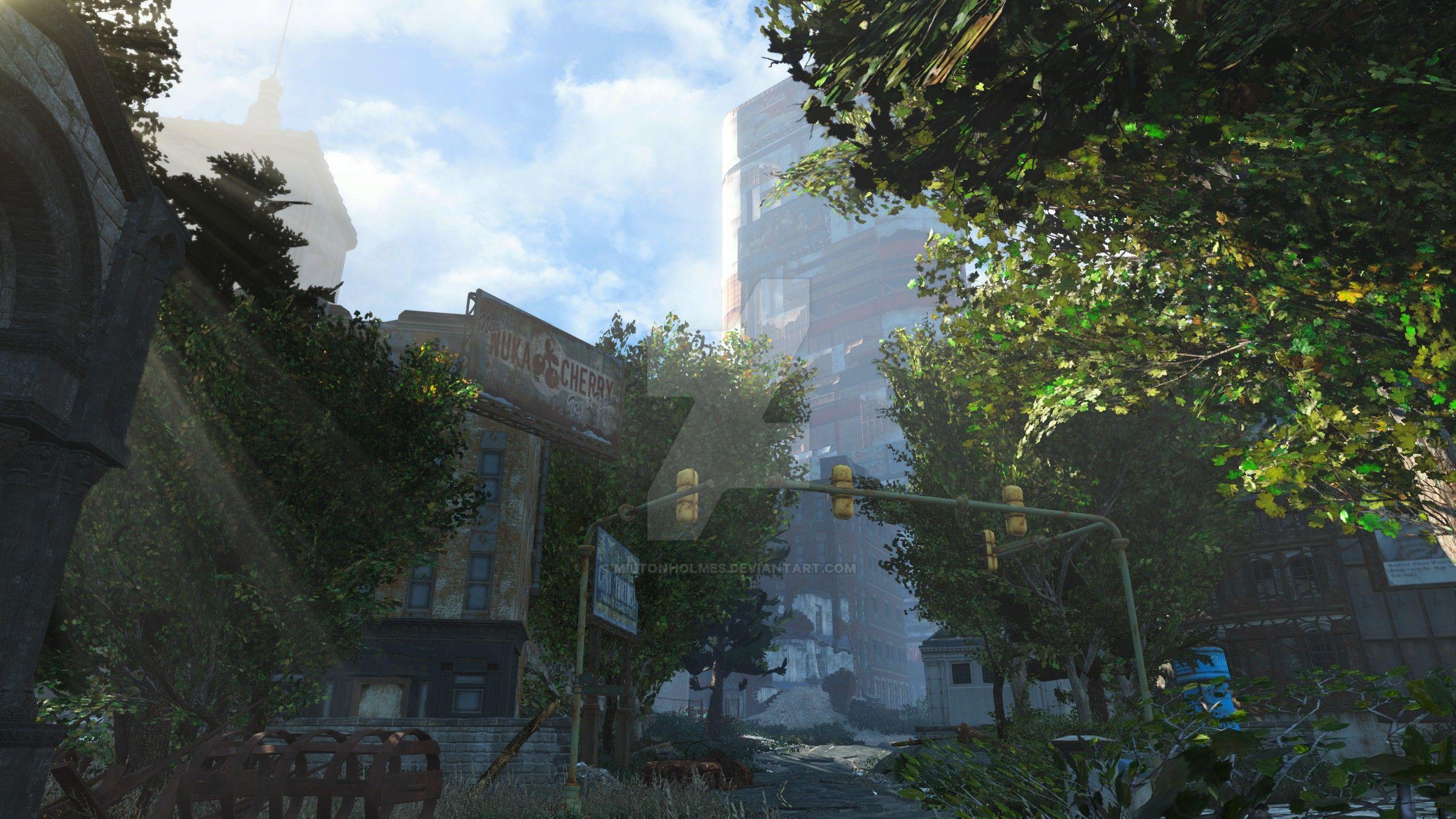 Trinity Plaza Regrowth by Miltonholmes