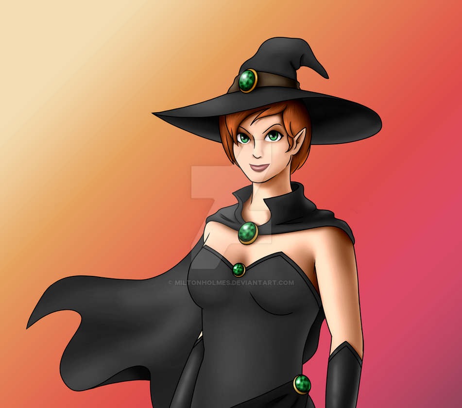 Witch (Spooktober) by Miltonholmes